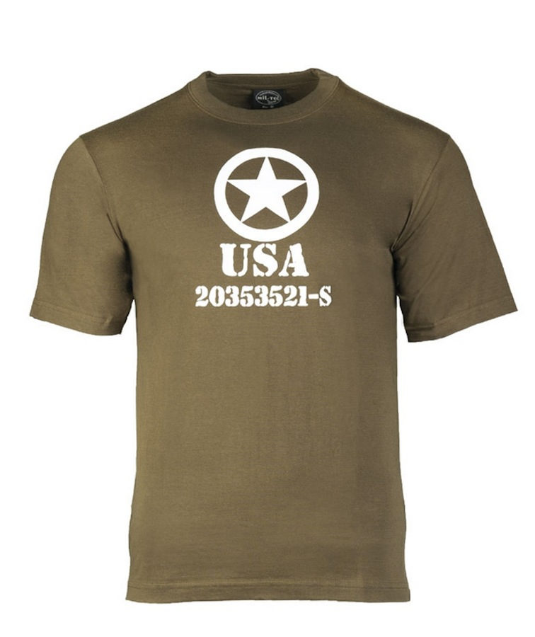 T-shirt Allied Star verde