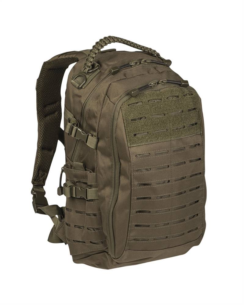 Zaino Mission Laser Cut verde Mil-Tec small