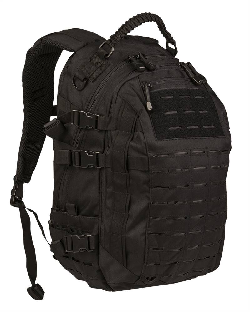 Zaino Mission Laser Cut nero Mil-Tec large