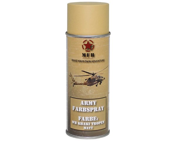 Vernice spray WH KHAKI OPACO 400ml.