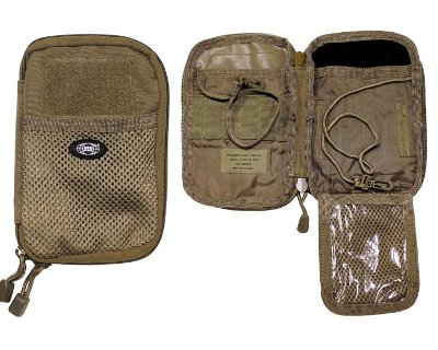 "Porta Documenti ""MOLLE"" coyote"