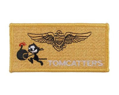 Patch americana in tessuto VF-31 TOMMCATTERS
