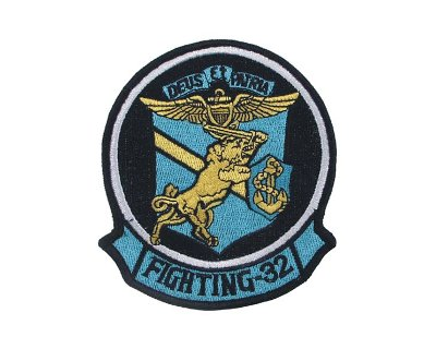 Patch americana in tessuto VF-32 SWORDSMAN fighting 32