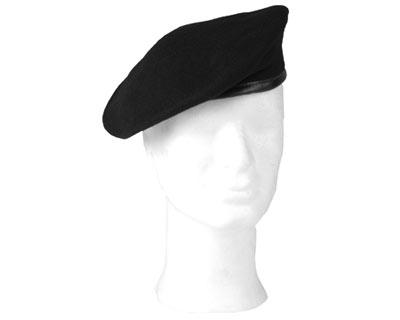 Basco Militare Nero in lana Mario Legionario  Basco Militare Nero in ... 257791a57567