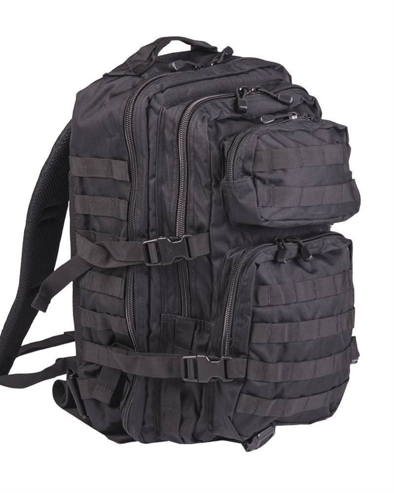 Zaino Miltec Assault large, Nero