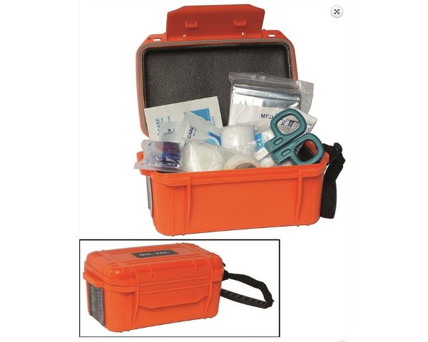 Kit pronto soccorso in box impermeabile IP68