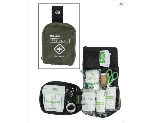Kit pronto soccorso First Aid Midi