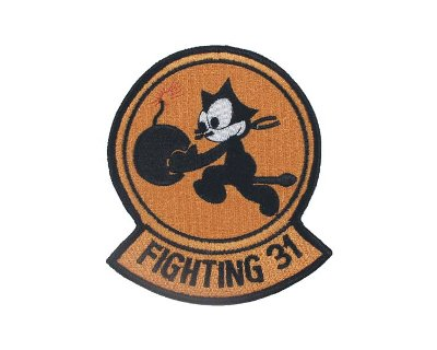 Patch americana in tessuto VF-31 TOMMCATTERS fighting 31