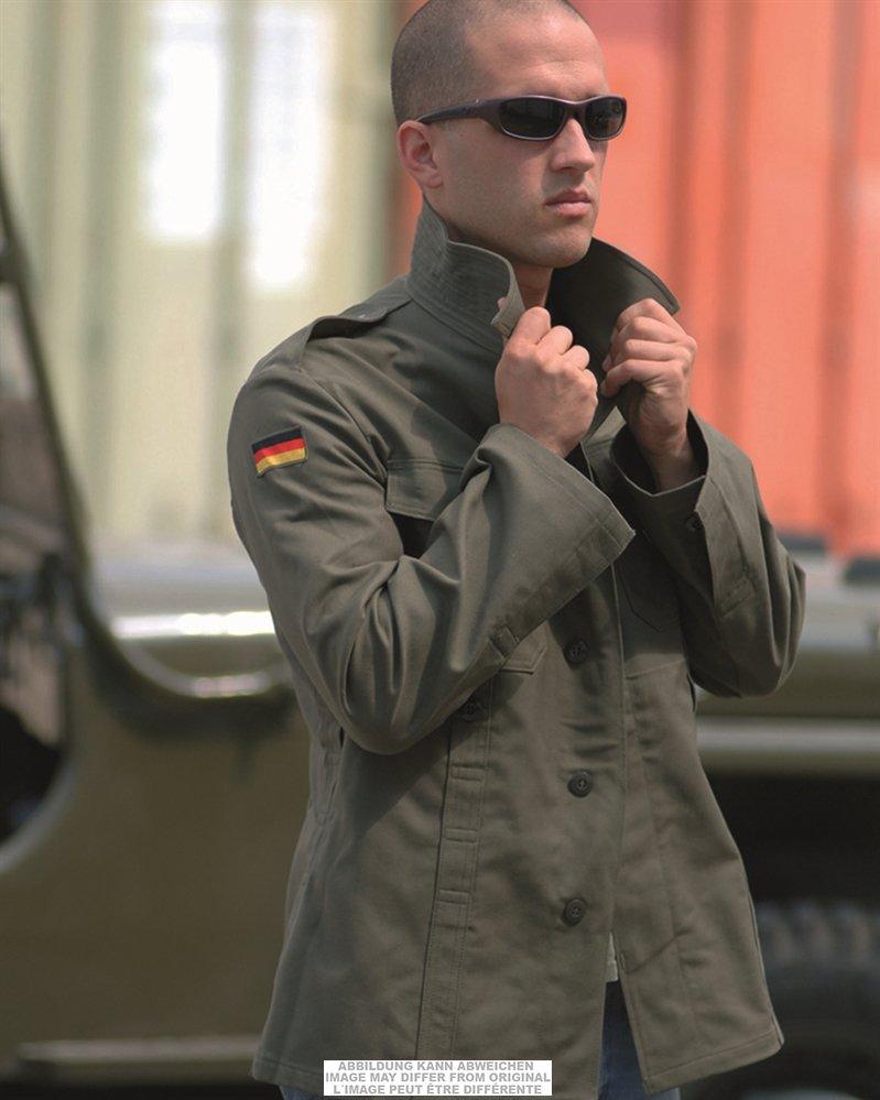 Completo impermeabile giacca pantaloni tedeschi, usato Mario