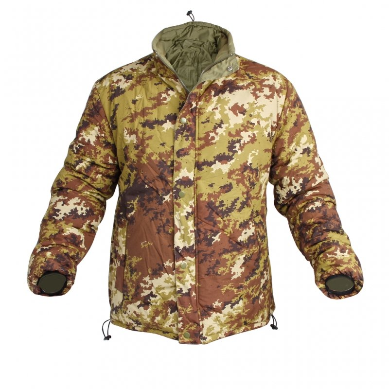Lite jacket reversibile Vegetato